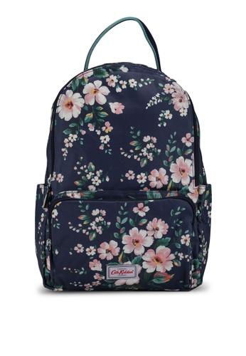 Cath Kidston navy Spitalfields Pocket Backpack C65E1AC403309BGS_1