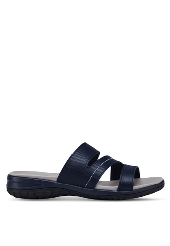 Bata navy Slide On Sandals F28A2SH87FF1CBGS_1