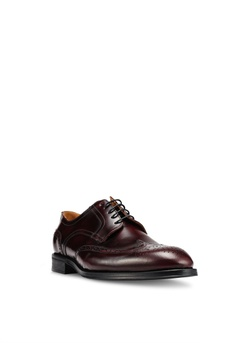 0f3a897648e 10% OFF MANGO Man Brogueing Leather Blucher RM 576.90 NOW RM 518.90  Available in several sizes