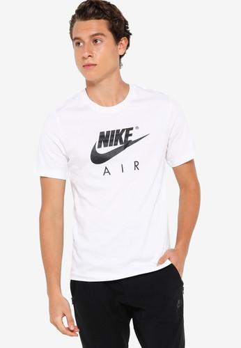 Nike white Air Sportswear Tee AD081AA18BD8F1GS_1
