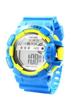 XINJIE Xander Sports Men Silicone Strap Watch XJ-936