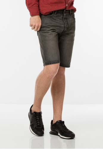 Levi's black 501® Original Fit Shorts 27889AA126775CGS_1