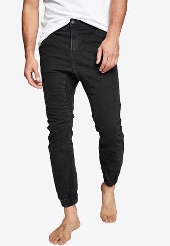 Cotton On black Slim Denim Joggers B4F93AA36AF64CGS_1