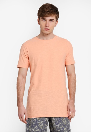 Factorie orange Drop Tail Tee FA880AA0SKMOMY_1