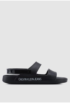 Calvin Klein black Prisca Sandals 14375SH16FC7EBGS 1 be72ae9c53