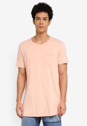 Cotton On 多色 休閒短袖長版T恤 5A21FAACE023D5GS_1