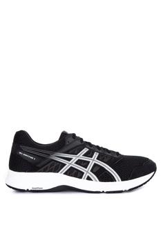 brand new 89971 11e2c Asics black Gel-Contend 5 Running Shoes D1EC1SHDCC75EFGS 1