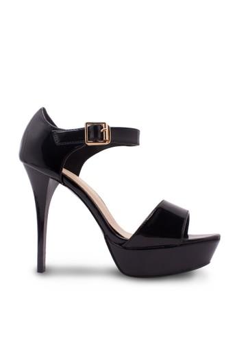 Karen&Chloe black Sepatu Wanita High Heel Hitam KA772SH10RWZID_1