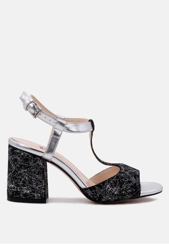 London Rag 多色 制作于London Rag 露趾女式凉鞋 78412SHFB3BDBBGS_1