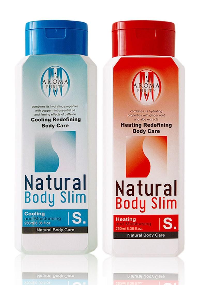 Natural Body Slim (Heating + Cooling Redefining Body Care) *2 bottles