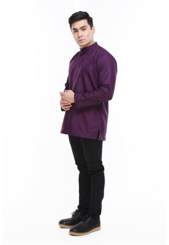 Amar Amran purple Kurta Al Idrus 2.0 EF217AA65F9955GS_1