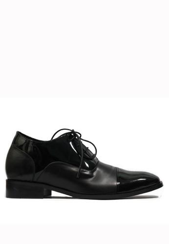 Keeve black Keeve Shoes Peninggi Badan Formal 147- Hitam B9179SHDFEB03DGS_1