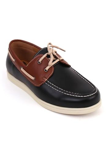 7soles black Rowland Mens Casual Shoes BCE3CSHAC1137BGS_1