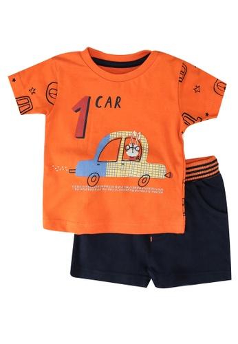 Babybol orange Baby Boys' 2-Piece Set C9868KA8EFA771GS_1