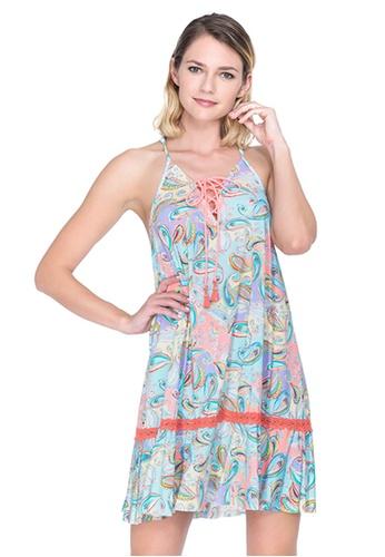 Sunseeker multi Crazy Paisley Beachwear Dress 0AA12US10F1EB7GS_1