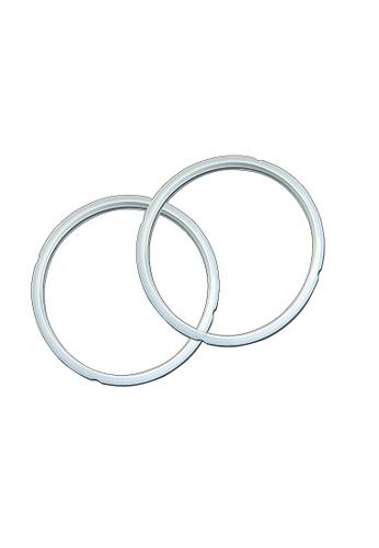 INSTANT POT white 6-Quart Twin Pack Sealing Rings E5F56HL9C66163GS_1