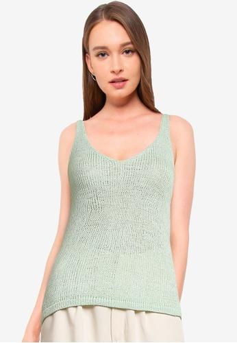 Supre green Renetta Knit Cami B94E0AAC8A502CGS_1