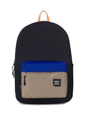 Herschel black Rundle Trail Backpack HE958AC0K9YTPH_1