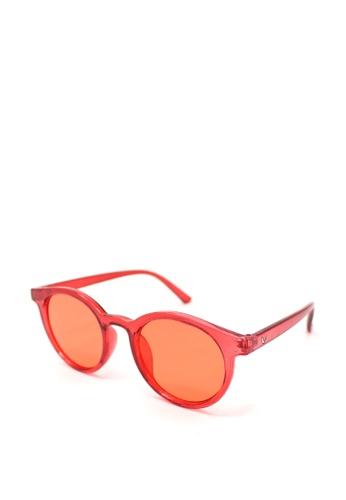Peculiar and Odd red Round Full Rim 5142 Classic Sunglassses CA837GLAA824C5GS_1
