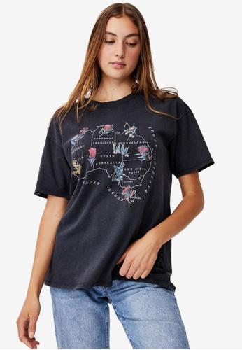 Cotton On black The Original Graphic Tee D0751AA74C4FD8GS_1