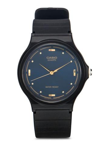 MQ-76-2ALDF 簡約橡膠圓錶, 錶類esprit旗艦店, 飾品配件
