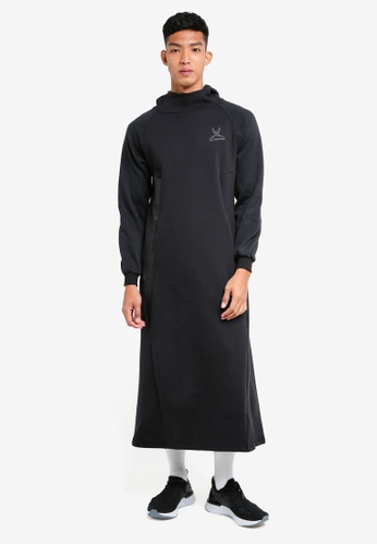 SYNDEED black Jubah Assassin 23978AAD3BA0F0GS_1