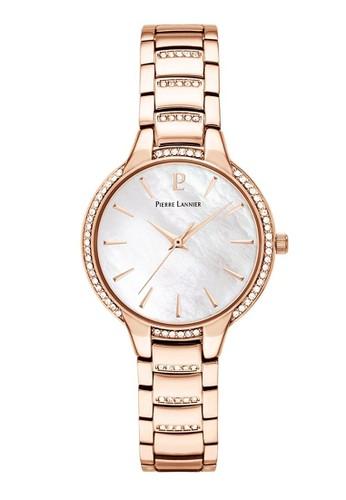 Pierre Lannier gold Pierre Lannier Watches - Jam Tangan Wanita- Steinless Steel- 037G999 (White) D1A86ACCB96EF4GS_1