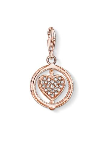 "THOMAS SABO gold Charm Pendant ""Heart"" 75508AC67E3DC4GS_1"