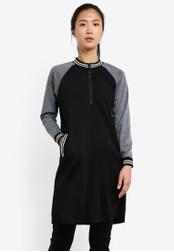 AVIVA black Long Sleeve Top AV679AA0S9H0MY_1