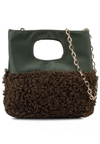 Berrybenka green Wifuri Decca Top Handle Bag 8CF7FACE702649GS_1