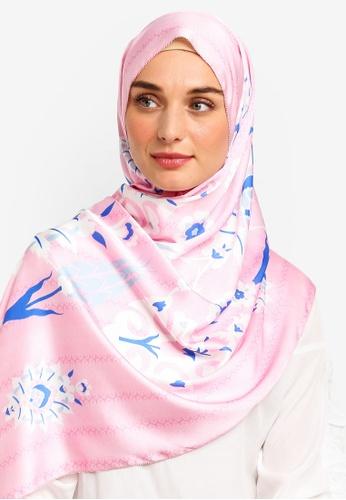 The Ciks pink Mediterranean In Turkey Shawl 6A1B1AA1C17720GS_1