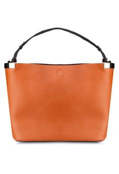 Clean Metal Side Slouch Bag