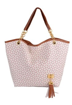Synthetic Leather Sailing Printed Shoulder Bag
