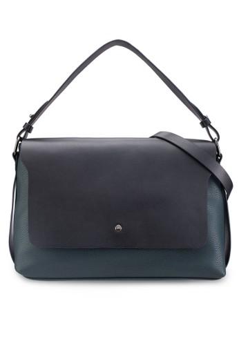 暗紋翻蓋手提肩背包、 包、 包ZALORA暗紋翻蓋手提肩背包最新折價