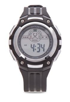 Unisex Rubber Strap Watch MXMR85470792