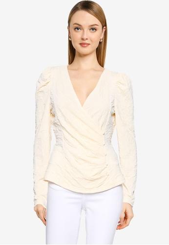 Vero Moda beige Magnolia Detail Top 8141FAA7450CAAGS_1
