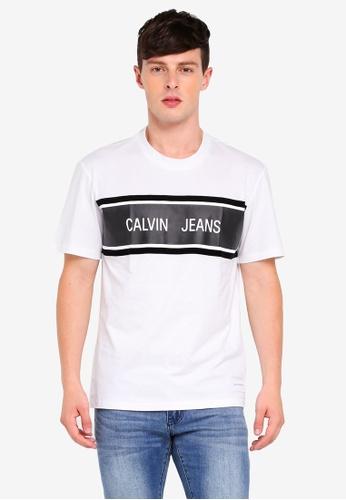 Calvin Klein multi CJ Stripe Relax Tee DDED0AA9D37B18GS_1