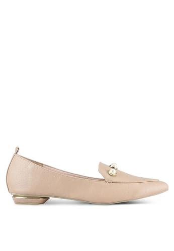 VINCCI pink Pearl Embellished Flats VI831SH0RZLGMY_1
