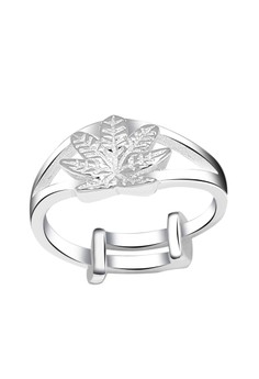 Marijuana Leaf Child's Ring