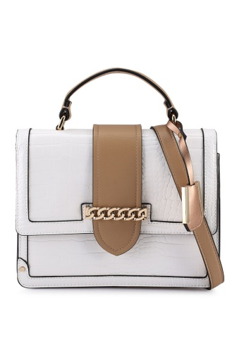 Call It Spring white Keda Top-Handle Bag F6BBDAC6D8CE4AGS_1