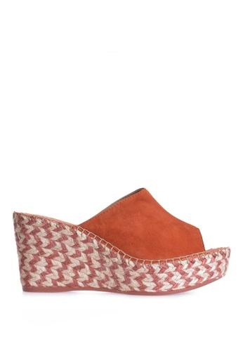 TONI PONS orange LUCY CLOG - Wedge Espadrilles 3498DSHF9A0FD1GS_1