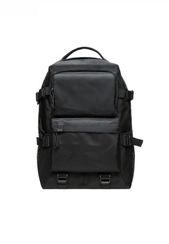 Twenty Eight Shoes black Multi Purpose Nylon Oxford Travel Laptop Backpack JW KK-KS19 D368BACC9E335AGS_1
