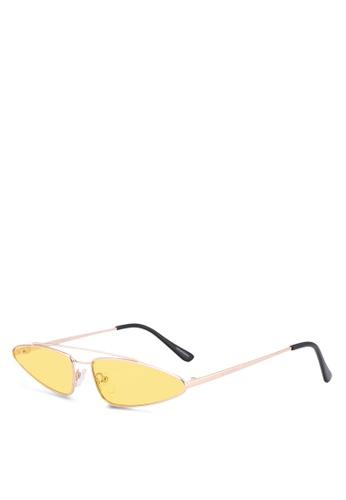 Privé Revaux 金色 The Milan Sunglasses 9C4C8GL6650D6DGS_1