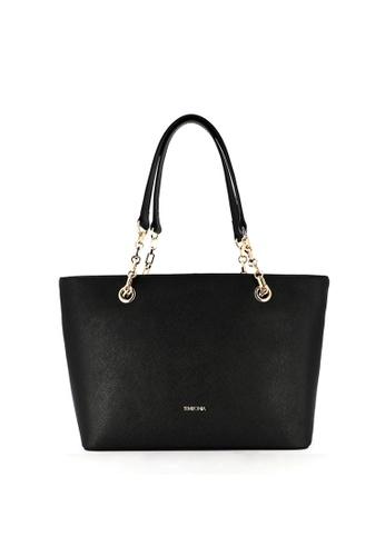 SEMBONIA black SEMBONIA Full Leather Shoulder Bag (Black) SE598AC0S84SMY_1