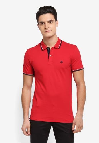 Selected Homme red New Season Polo Shirt E7ABBAAFFE8AEEGS_1