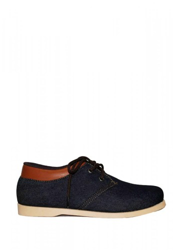 D-Island blue D-Island Shoes Casual Canvas Dark Blue DFB7FSH8A763DCGS_1