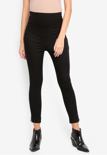 LC Waikiki 黑色 Maternity Black Trousers 58D09AAD6DDF1DGS_1