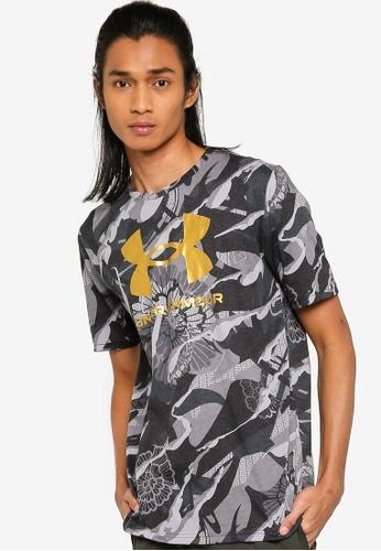 Under Armour black CNY Big Logo Short Sleeves T-Shirt 429CEAA36D3076GS_1