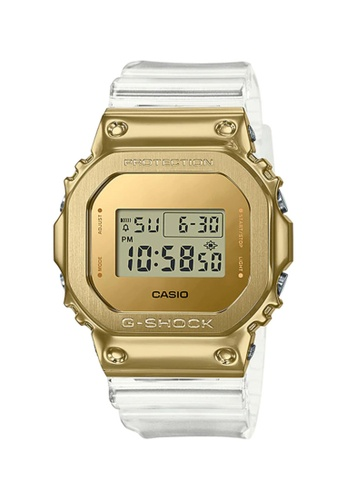 G-shock 白色 Casio G-Shock Men's Digital GM-5600SG-9DR White Resin Band Sport Watch 4043DAC8300366GS_1