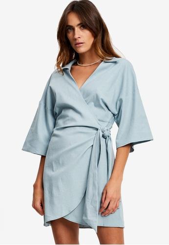 St MRLO blue Balandra Dress A2F48AAD98AF3BGS_1